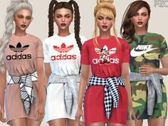 -Adidas(and Nike) Sporty Dress available in 5 designs. Found in TSR Category 'Sims 4 Female Everyday' -Adidas(and Nike) Sporty Dress available in 5 designs. Found in TSR Category 'Sims 4 Female Everyday' Source by Dresses Sims 4 Tsr, Sims Cc, Sims 4 Mods Clothes, Sims 4 Clothing, Clothing Sets, The Sims 4 Cabelos, Sims 4 Collections, Sims 4 Toddler, Girl Clothing