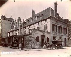 13, rue Cambon et 44, rue du Mont-Thabor. Paris 1er, 1898. Photographie d'Eugène Atget (1857-1927). Paris, musée Carnavalet.