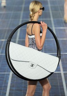 The classic Chanel flap bag gets an extreme :))