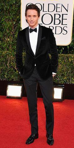 Golden Globe Awards 2013 : Eddie Redmayne