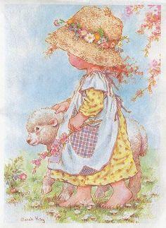 Pastora de ovejas