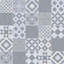 Vivre 71 is blue and grey slip resistant cushioned sheet vinyl in a vintage Portuguese tile design. Tiled Hallway, Hallway Flooring, Ceramic Wall Tiles, Mosaic Tiles, Cement Tiles, Tile House Numbers, Vinyl Flooring Kitchen, Kitchen Backsplash, Victorian Rooms