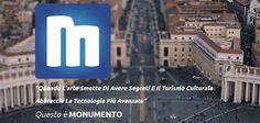 """MONUMENTO - una guida turistica innovativa da provare su Android! Ecco una bella e utile guida turistica tutta italiana da provare al volo su Android (e a breve anche su iPhone)!  Con """"Monumento"""" non dovrete fare altro che scattare una foto a un'opera d'arte (sta #monumento #arte #app #android #guida"""