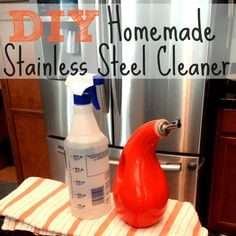 Looking for a natural way to clean and polish your stainless steel appliances? Learn how to DIY with this homemade stainless steel cleaner.