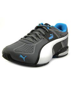 761329694 PUMA Puma Cell Surin Deboss Men Round Toe Canvas Gray Running Shoe .  puma