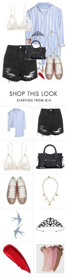 """""""Halsey-Inspired #376"""" by halseys-clothes ❤ liked on Polyvore featuring Vetements, Topshop, Hanky Panky, Balenciaga, Yves Saint Laurent, Marc by Marc Jacobs, Miss Selfridge, Sisley, Gucci and halsey"""