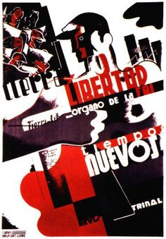 Libertarian propaganda poster CNT-FAI | Spanish Civil War 1936-1939 | Anarchism