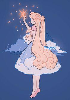 Sailor Moon S Wallpaper Arte Do Kawaii, Kawaii Art, Kawaii Chibi, Cute Art Styles, Cartoon Art Styles, Image Princesse Disney, Sailor Moon Aesthetic, Sailor Moon Wallpaper, Sailor Moon Art