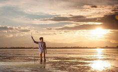 Shooting avec Maxime sur l'étang de Canet  Réservez votre séance photo ou reportage de mariage sur: http://ift.tt/1oPUHC3 - http://ift.tt/1oPUHC3