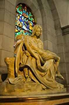 Mama Mary and Jesus @ Manila Cathedral