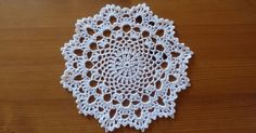 I love doilies - quick and fun to make.  Here's another I've made recently. The pattern is called Tea Time by Denise Augostine.  It is a...