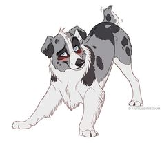 Bret - Design for sale (CLOSED) by faithandfreedom on DeviantArt Cartoon Dog Drawing, Cute Dog Drawing, Anime Wolf Drawing, Cute Animal Drawings, Animal Sketches, Cartoon Art, Cute Drawings, Art Sketches, Furry Art