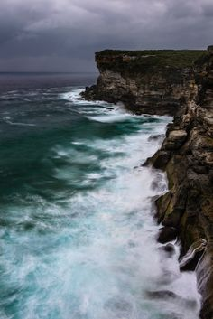 Waterscapes | Riding the Stormy Seas | Curracurrong Falls in the Royal National Park south of Sydney, Australia | Rodney Campbell - Google+