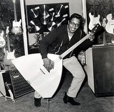 Bo Diddley...I love this pic