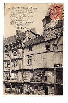 76-ROUEN-ancienne-demeures-rue-de-la-savonnerie