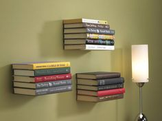 Put Your Favorite Novels On Display With a DIY Floating Bookshelf