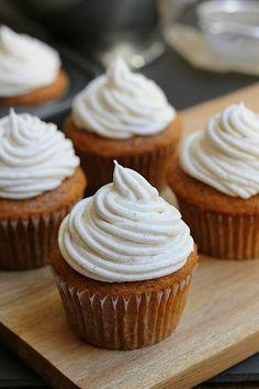 Pumpkin Cupcakes | Savor Home