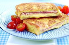 Try our delicious cheesy ham eggy bread recipe for a quick and tasty lunch. Cheap, quick and easy eggy bread is our kind of fast-food! Cheese Recipes, Bread Recipes, Cooking Recipes, Budget Recipes, Uk Recipes, Baby Recipes, Cheap Family Meals, Cheap Meals, Egg Recipes For Breakfast