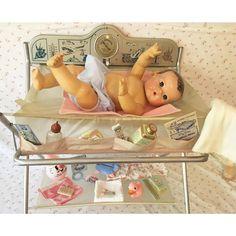 I had an Effenbee Baby Doll! Antique Dolls, Vintage Dolls, Girl Dolls, Baby Dolls, Tiny Tears Doll, Human Doll, Effanbee Dolls, Doll Display, Valley Of The Dolls
