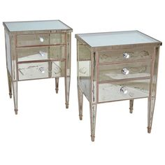 distressed mirror wallpaper distressed mirrored nightstand antique mirrored nightstand small 3 drawer high hi res wallpaper pictures aged mirror wallpaper Vintage Nightstand, Mirrored Nightstand, Table Furniture, Cool Furniture, Distressed Mirror, Mirrored Wallpaper, Shabby, Wallpaper Pictures, Furniture Inspiration