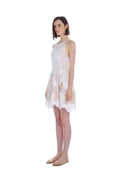 Confessions Halter Skater Dress