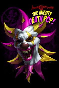 """Art Gallery and Online Store for Tom Wood""""s fantasy artworks, including his famous Dragons and depictions of the Insane Clown Posse - ICP. Gruseliger Clown, Creepy Clown, Evil Clown Pictures, Icp Joker Cards, Insane Clown Posse, Clown Tattoo, Neue Tattoos, Evil Clowns, Send In The Clowns"""