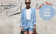 Trend Alert: Aposte em Looks total jeans
