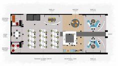 Coworking Space Floor Plan