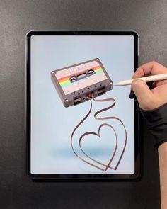 Digital Painting Tutorials, Digital Art Tutorial, Inkscape Tutorials, Art Tutorials, Cool Art Drawings, Art Drawings Sketches, Autodesk Sketchbook Tutorial, Digital Art Beginner, Ipad Art