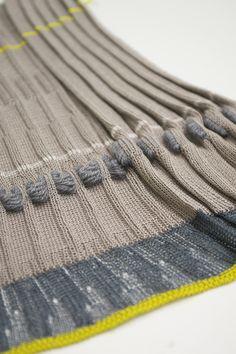 ARTS THREAD Portfolios - ARTS THREAD Knitting Designs, Knitting Stitches, Hand Knitting, Textile Patterns, Stitch Patterns, Knitting Patterns, Project Purple, Textiles Sketchbook, Fibre And Fabric
