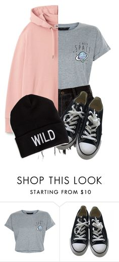 """WILD"" by always-in-the-clouds ❤ liked on Polyvore featuring New Look, Converse and American Eagle Outfitters"