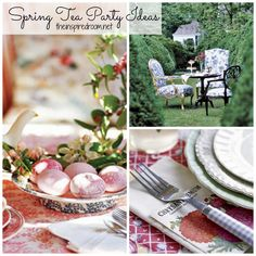 tea parties ideas | Spring Time Tea Parties {Sweet Ideas!} - The Inspired Room