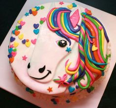 Lisa Frank Horse Cake Cake Is Dairy Egg And Nut Free
