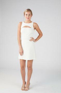 Gabi dress in White - Annie Griffin Spring '14