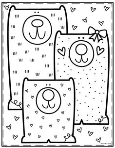 Coloring Club Library — From the Pond Colouring Pages, Coloring Pages For Kids, Coloring Sheets, Coloring Books, Art For Kids, Crafts For Kids, Color Club, Printable Coloring, Activities For Kids