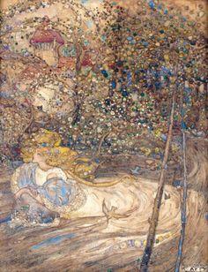 Annie French: Ophelia