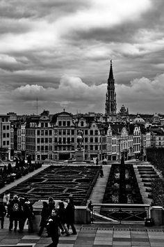 View from Mont des arts, Brussels, Belgium Copyright: Sylvain Kerdreux