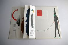 Le marchand d'animaux | Bruno Munari | Les Trois Ourses Zen Design, Buch Design, Pop Up, Art Zine, Paper Pop, Paper Artwork, Book Layout, Book Projects, Book Binding