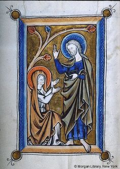 - Images from Medieval and Renaissance Manuscripts - The Morgan Library & Museum Medieval Times, Medieval Art, Medieval Manuscript, Illuminated Manuscript, Santa Maria Magdalena, Doubting Thomas, Noli Me Tangere, Life Of Christ, Celtic Art