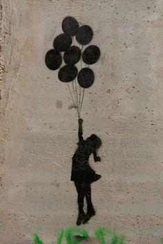 girl with balloons | Banksy 'Girl with balloons'