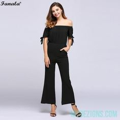 744b02b6589 ForeFair Sexy Open Back Belted Playsuit Black Knitted Stripped High Fashion  Short Jumpsuit Flare Sleeve Slim Women Romper
