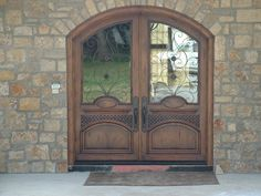 Custom Exterior Doors.