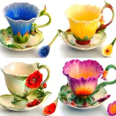 Vase Deco, Teapots And Cups, Teacups, Cool Mugs, China Tea Cups, My Cup Of Tea, High Tea, Vintage Tea, Cup And Saucer