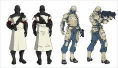 concept art for Shadow Complex Futuristic Armour, Futuristic Art, Weapon Concept Art, Armor Concept, Gi Joe, Character Concept, Character Art, Combat Armor, Character Design