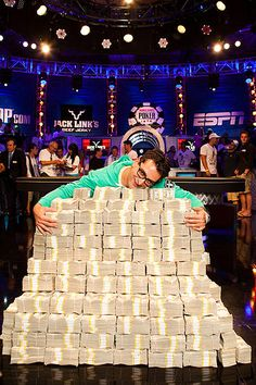 July 3, 2012: Antonio Esfandiari plays in the One million dollar buy-in Big One for One Drop Texas Hold'em event and wins over 18 Million Dollars!