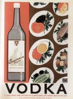 vintage everyday: Vintage Soviet Advertising for Foreigners