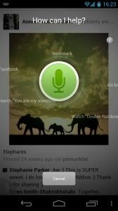 Dolphin Browser for mobile devices received a voice-control feature