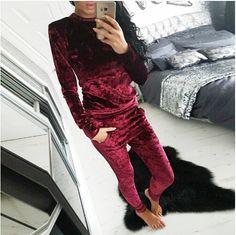 #aliexpress, #fashion, #outfit, #apparel, #shoes #aliexpress, #Fashion, #Velvet, #Winter, #Tracksuit, #Sleeve, #Sportsuit, #Women, #Piece, #Pants, #Suits, #Hoodies, #GV472