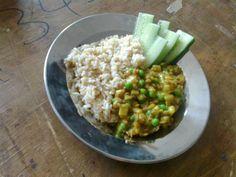 Kolmen palkokasvin curry