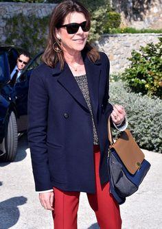 Carolina de Mónaco sigue siendo uno de los iconos mundiales de la elegancia.